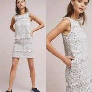 Anthropologie Akemi + Kin Tweed Shift Dress (sz 6)